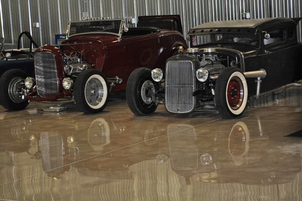 Polished, Under 5,000 Square Feet, Second Place: Dream Krete of Mid Atlantic Floor Care LLC, Richmond, Va. Wolf garage