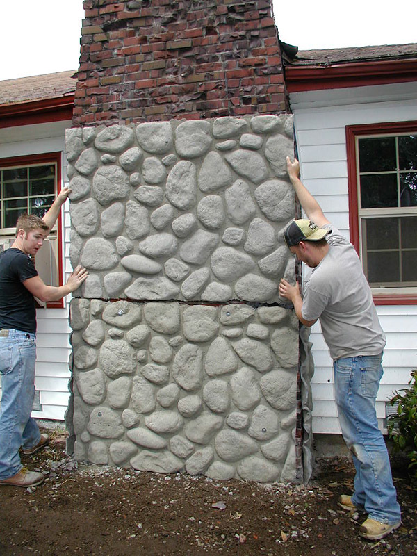 Concrete Veneer Panels Make Icfs Rock Concrete Decor