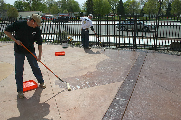 Drying And Curing ~ Drying phases of concrete sealers the difference between