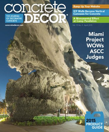 Concrete Decor - Vol. 15 No. 3 - April 2015