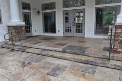 Award Winning Stamped Concrete