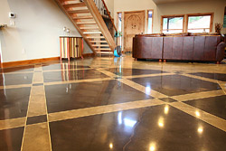 Award Winning Polished Concrete