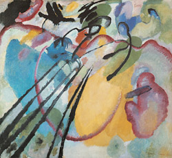 "Wassily Kandinsky, ""Improvisation 26 (Rowing)"