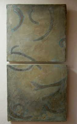 using abstract design in decorative concrete