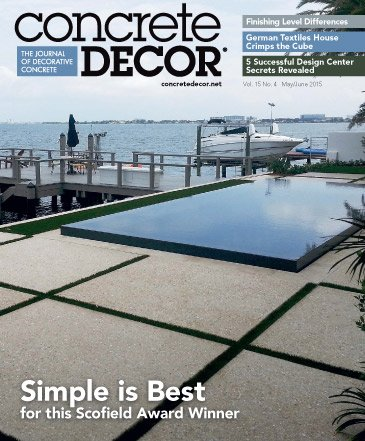 Concrete Decor - Vol. 15 No. 4 - May/June 2015