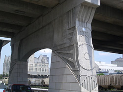 artistic concrete bridge - Photo courtesy of Scott System Inc.