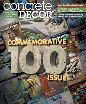 Concrete Decor - Vol. 15 No. 5 - July 2015