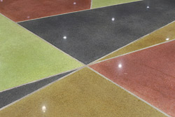 concrete floor with subsurface sealer