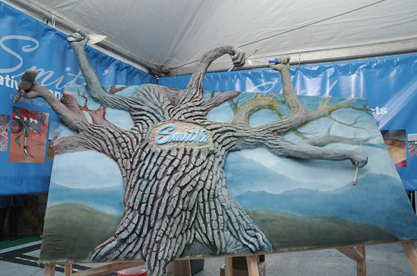Smith Paints concrete family tree