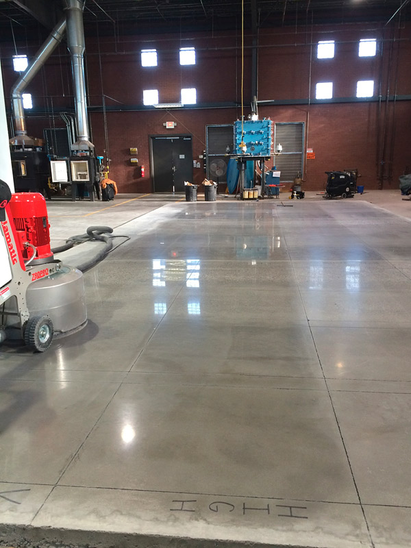 slip resistance standard for polished concrete