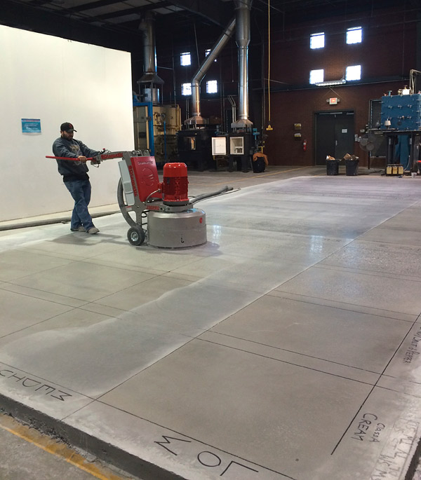 specifications for polished concrete slip resistance