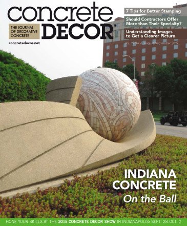 Concrete Decor - Vol. 15 No. 6 - August/September 2015