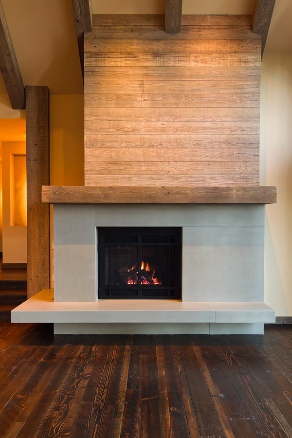 Stamped Concrete Fireplaces : A concrete master jimmy hazel with clastic designs