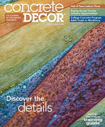 Concrete Decor - Vol. 15 No. 7 - October 2015