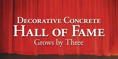 Concrete Decor Decorative Concrete Hall of Fame