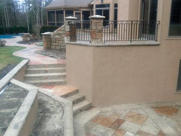 Philadelphia Polished Concrete Concrete Decor - Polished concrete patio