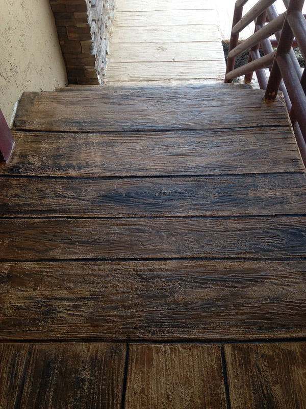 Stamped Concrete That Looks Like Wood : Philadelphia polished concrete decor