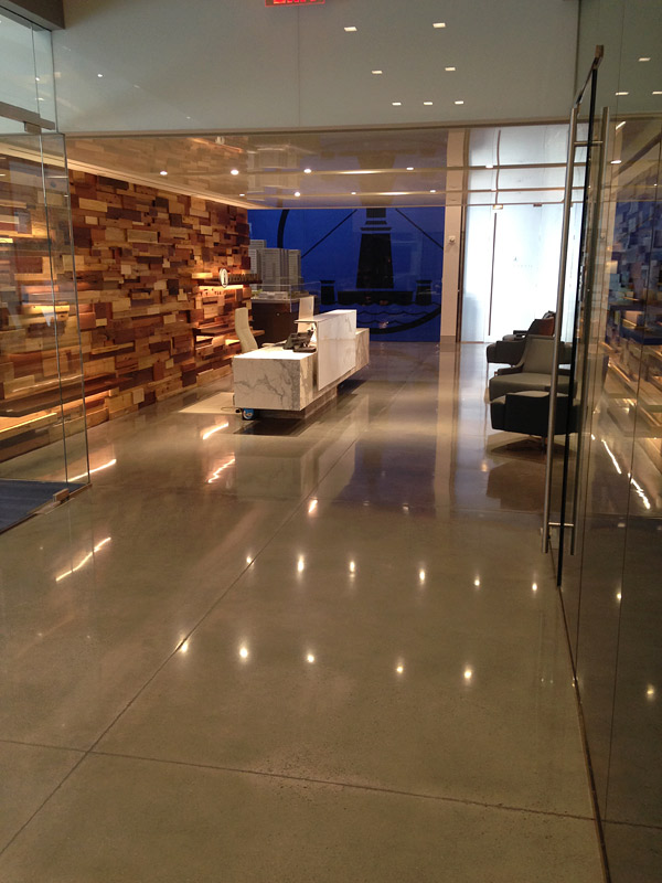 High End Polished Concrete Floor