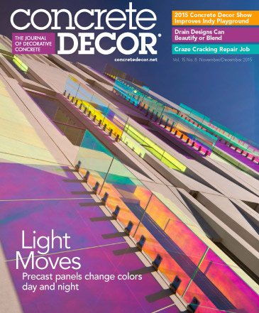 Concrete Decor - Vol. 15 No. 8 - November/December 2015
