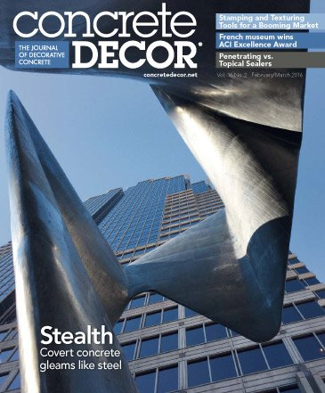 Concrete Decor - Vol. 16 No. 2 - February/March 2016