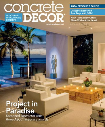 Concrete Decor - Vol. 16 No. 3 - April 2016