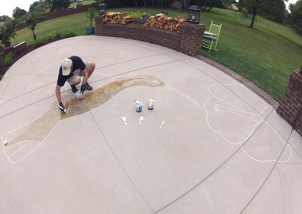 Using Your Concrete Cutting Saw Skills Concrete Decor