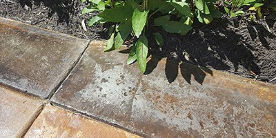 concrete that's impacted by environmental aspects
