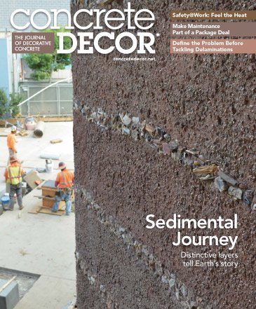 Concrete Decor - Vol. 16 No. 5 - July 2016