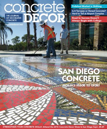 Concrete Decor - Vol. 16 No. 6 - August/September 2016
