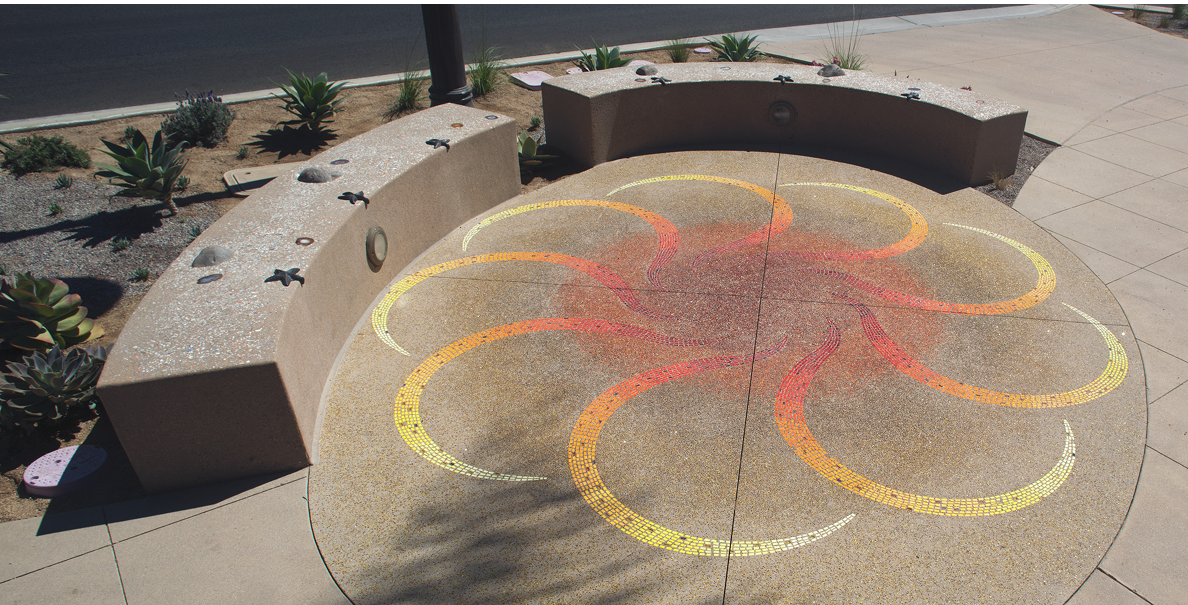 Modern Mosaic Artwork Livens San Diego S Landscape
