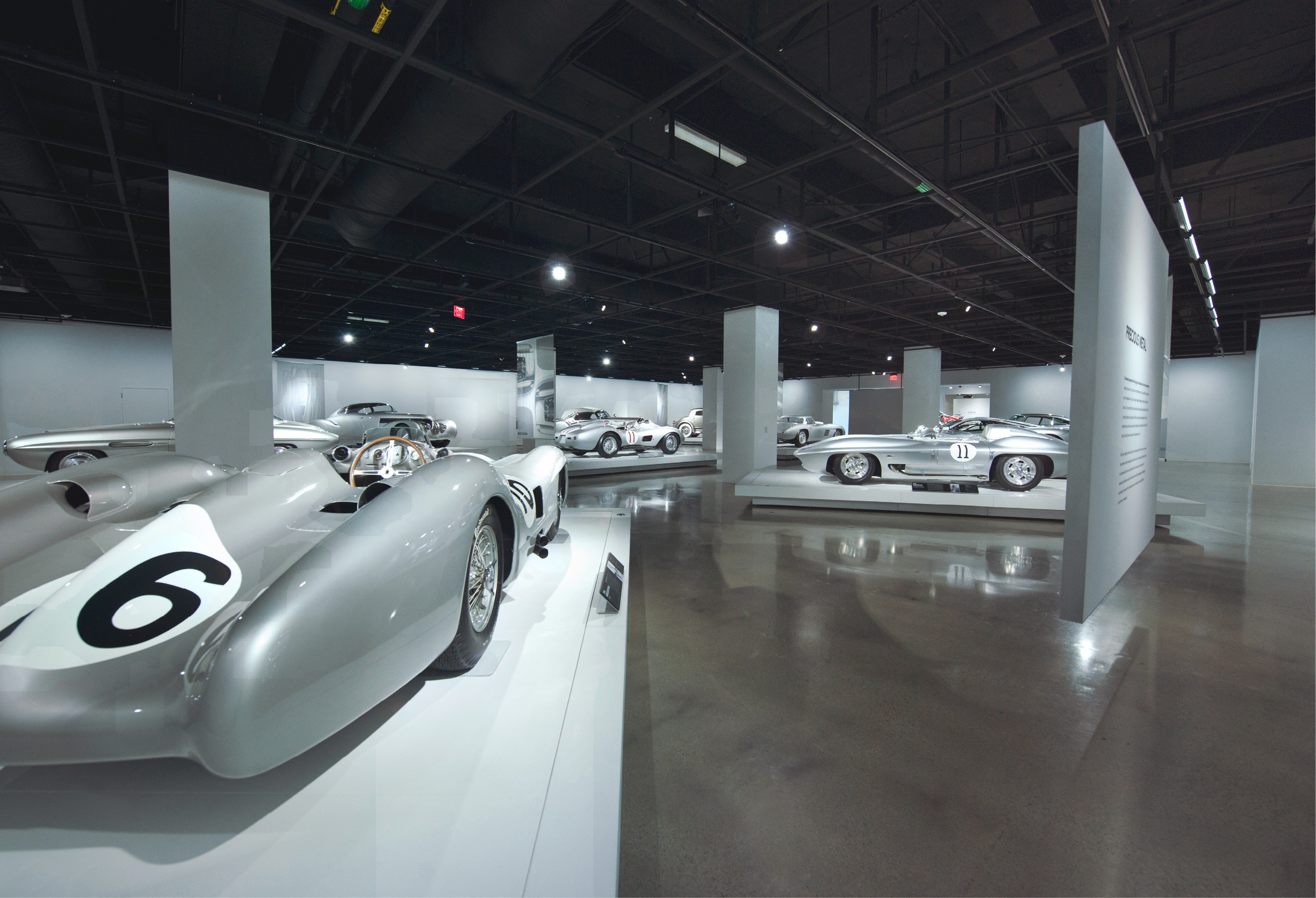 Polished Concrete Positively Reflects Highend Cars Concrete Decor - Car show display flooring