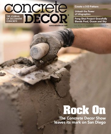 Concrete Decor - Vol. 16 No. 8 - November/December 2016