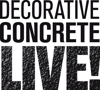 decorative concrete live at world of concrete
