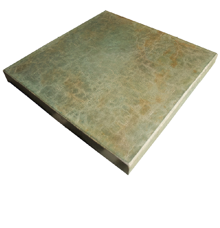Floating piece of concrete countertop