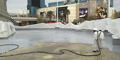 waterproofing concrete installations
