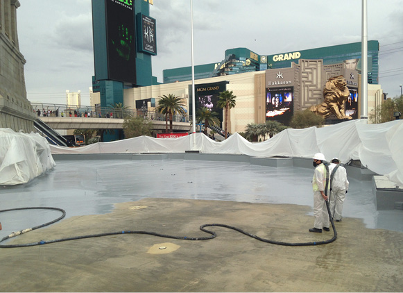 Reflecting Pool Waterproofing : Sealing the deal on waterproofing solutions concrete decor