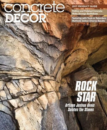 Concrete Decor - Vol. 17 No. 3 - April 2017