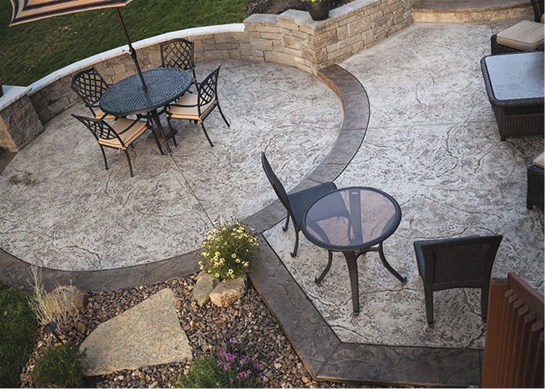 "Nearly every manufacturer of decorative concrete products has a ""systems approach"" to help contractors deliver consistent results on their projects. Photo courtesy of Townescapes, Batavia, Ohio"