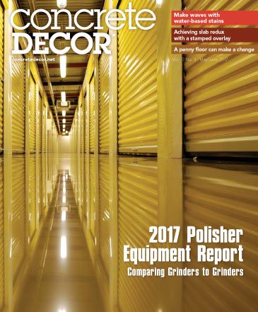 Concrete Decor - Vol. 17 No. 4 - May/June 2017