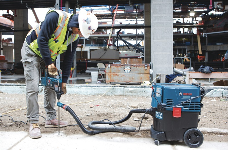 One of the newer innovations with cordless power tools is their ability to work with vacuum attachments for a cleaner job site.
