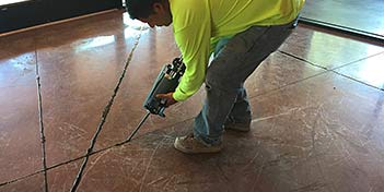 FLOORING IT: Fillers and sealants are fast friends for commercial jobs