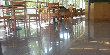 The Differences Between Mechanically and Chemically Polished Concrete