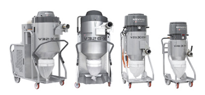 Manufacturers are adding new products to help shops meet the new OSHA requirements, such as the Lavinia-X dust extractors offered by Superabrasive (above) or the MS 360 Vac Attachment from Husqvarna (below).