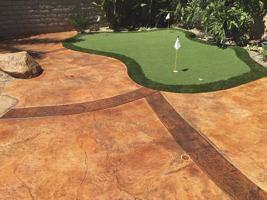 Who wants a putting green in their back yard?