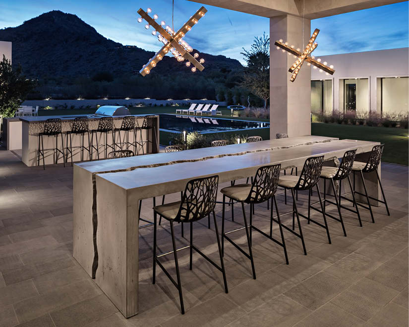 Tip Top Concrete Tables And Counters Concrete Decor