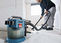 Bosch GAS18V-3N Cordless Wet/Dry Vacuum Cleaner