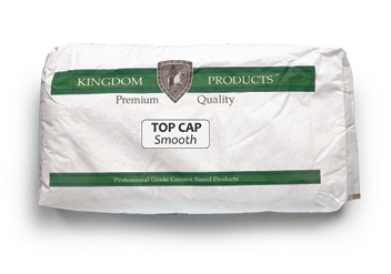 The Top Cap you know and love from Kingdom Products can now be used to create a smooth finish