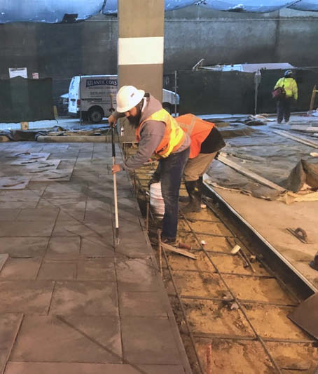 One way to get training is to align yourself with a qualified contractor outside your geographical territory with whom you don't compete. This training was conducted by Atlantic Coast Concrete at the JW Marriott in Charlotte, North Carolina.