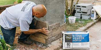 Build a Stone-veneer Monument Mailbox in 5 Easy Steps