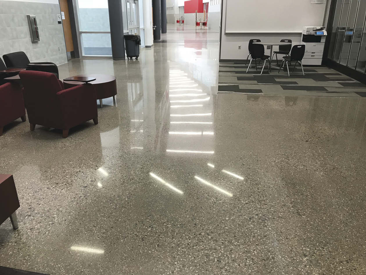 When it came time for the clients to accept the final finish, they had to reject the concrete — not because the overall design wasn't met or the work wasn't done to specifications, but because of the extensive damage to the surface.
